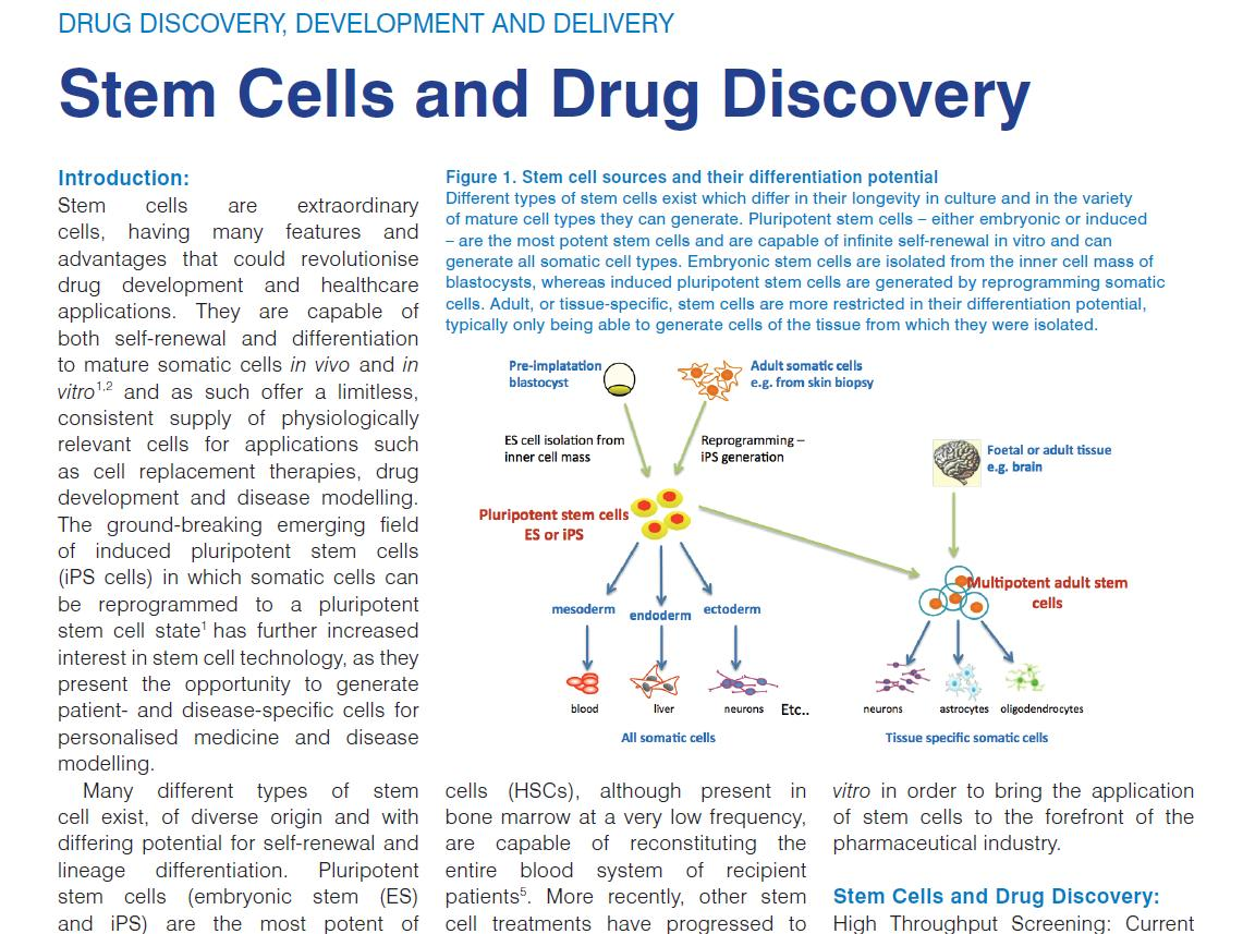 Expanding regenerative medicine